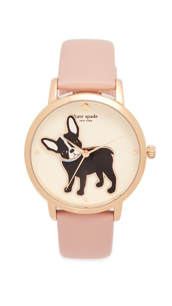 Grand Metro Antoine Leather Strap Watch, 38Mm in Pink/Multi/Gold