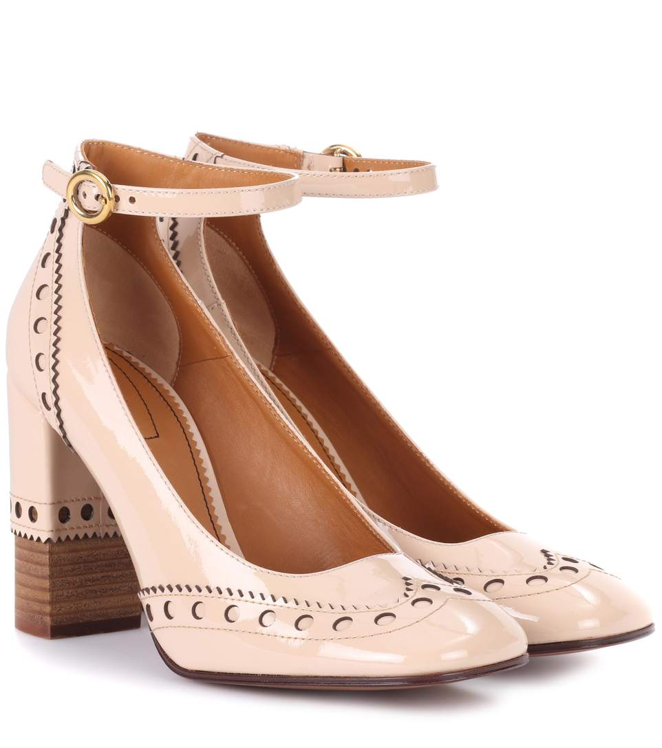 Chloé Leather Heels