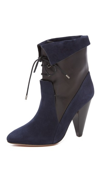 VERONICA BEARD Hawthorne Fine suede ankle boots Buy Cheap Authentic Discount Recommend Collections Online Free Shipping Countdown Package 8drCRYlX