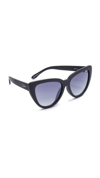 7301339b2 QUAY Stray Cat Oversized Cat Eye Sunglasses