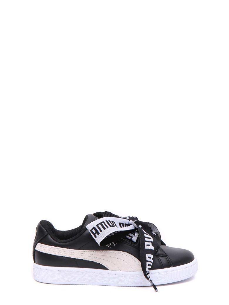 d6b2f4719f4 PUMA. Women S Basket Heart Leather Sneakers ...