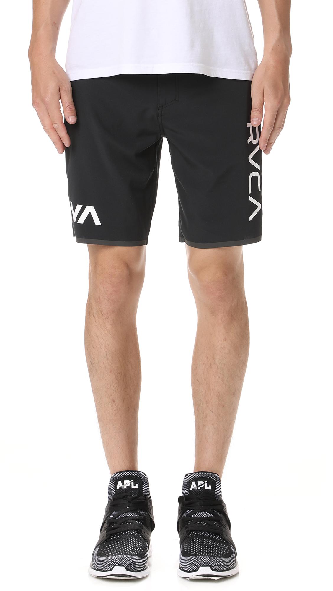 Staff Iii Dual Layer Shorts in Black