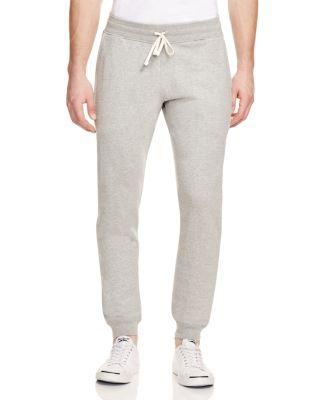 REIGNING CHAMP Core Slim Fit Jogger Sweatpants in Heather Grey