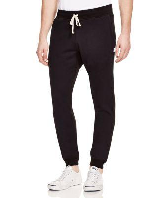 REIGNING CHAMP Core Slim Fit Jogger Sweatpants in Black