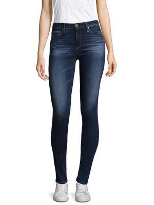 The Legging Ankle Super Skinny Jeans in Blue