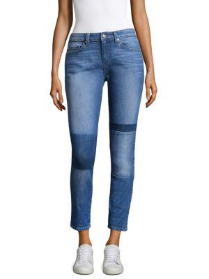 Devi Mid-Rise Authentic Skinny Jeans, Medium Wash