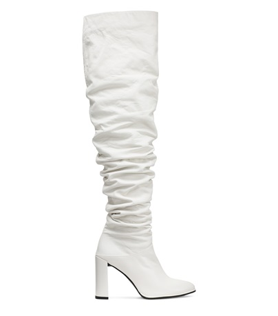 The Histyle Boot, Snow Nappa Leather