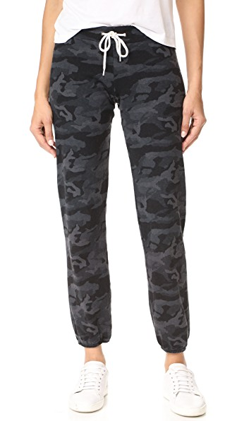 Camo Vintage Sweats in Charcoal Camo