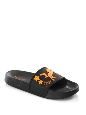 Puma X Sophia Webster Women S Leadcat Pool Slide Sandals In Black ... b0c732539
