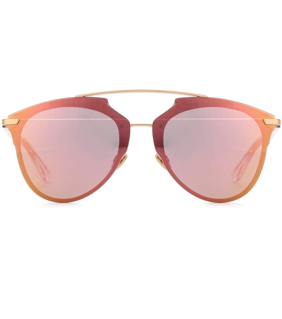 Diorreflected Aviator Sunglasses in Pink