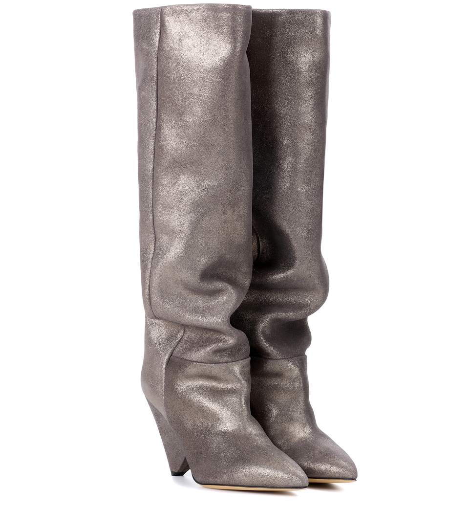 Sale Best Store To Get Lokyo leather knee-high boots Isabel Marant Online Cheapest  Buy Cheap Looking For 520p0ZSLxD