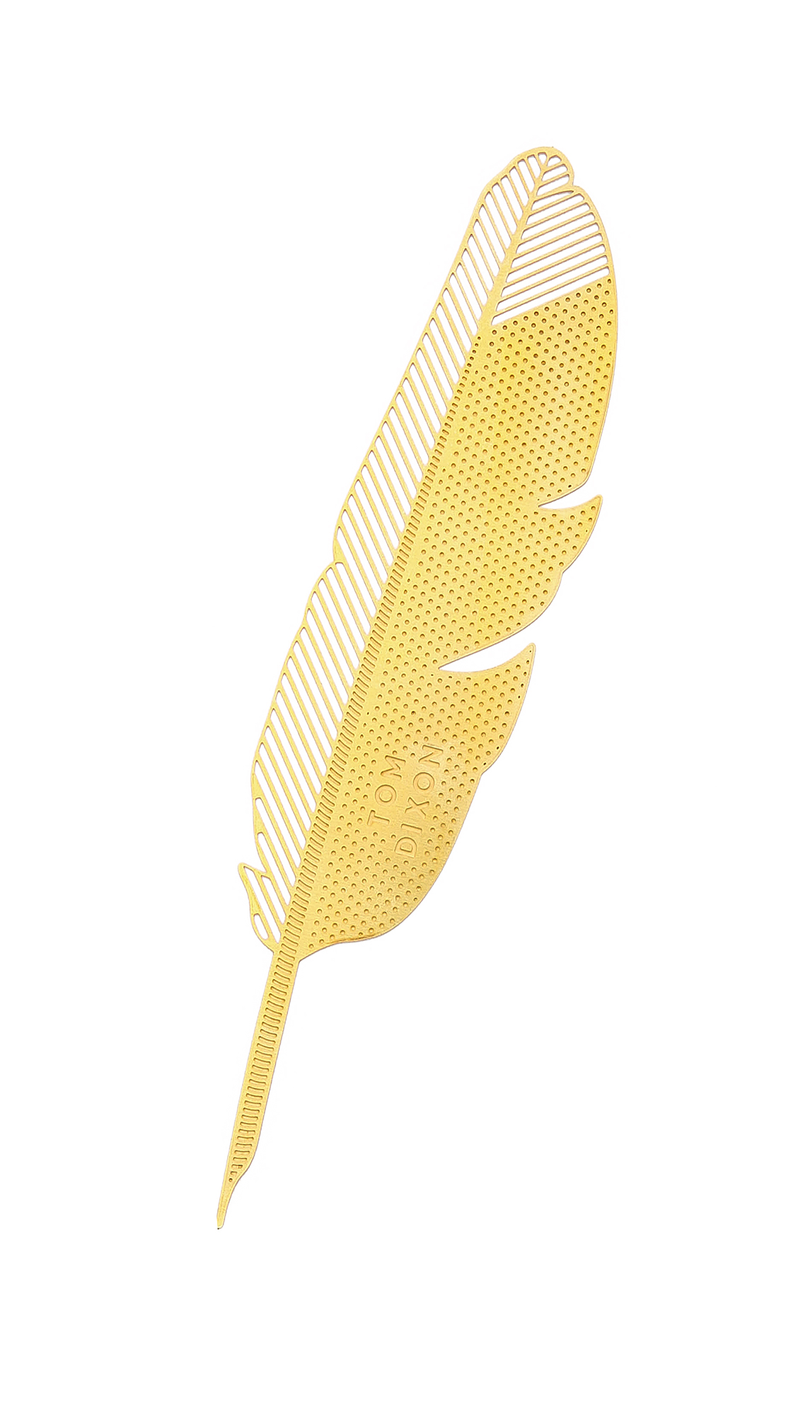 TOM DIXON The Bookworm Quill in Brass