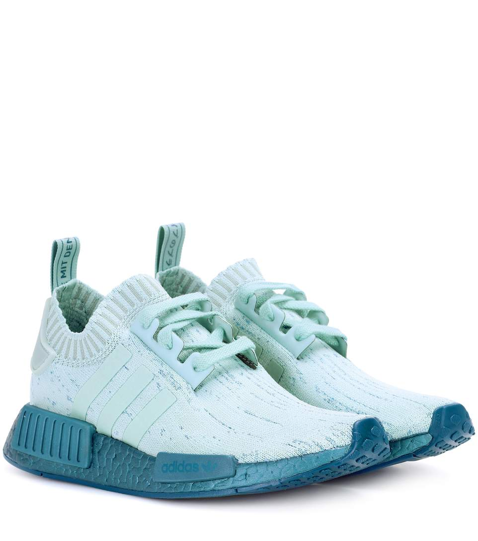 Adidas Nmd_R1 Primeknit Sneakers Green