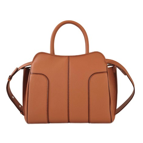 TOD'S Sella Small Tote in Brown