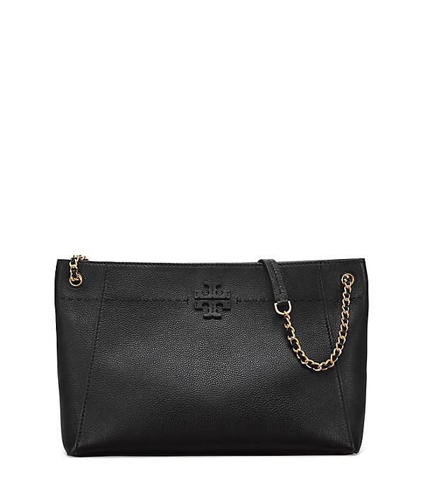 87b2fb8023e Tory Burch Mcgraw Chain-Shoulder Slouchy Tote