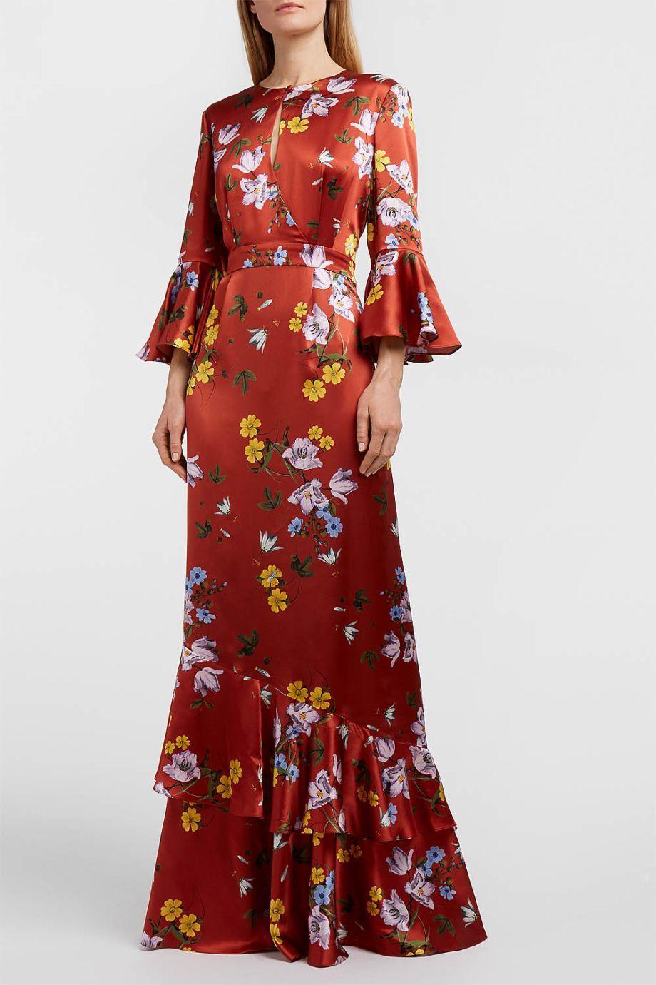 Sale Largest Supplier floral print ruffled blouse Erdem Wholesale Sale Footaction Limit Offer Cheap Find Great Online 0SeGEyksAT