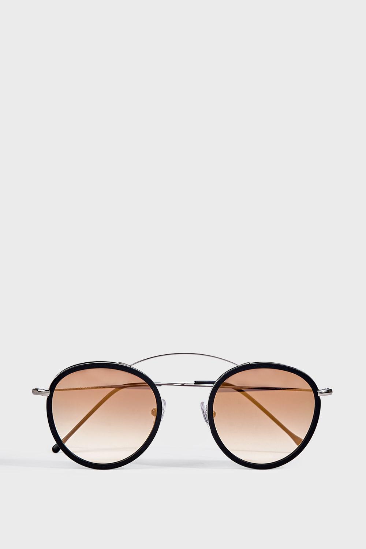 SPEKTRE SUNGLASSES Met-Ro Acetate And Metal Sunglasses, Os in Black