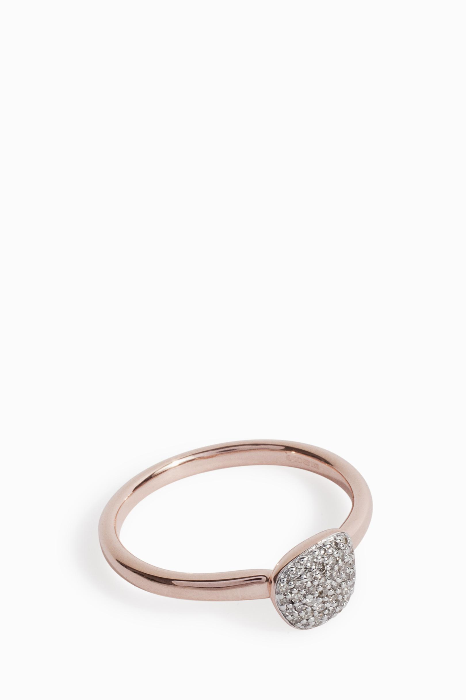 ring sterling shape diamond champagne product silver small