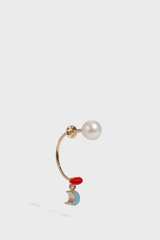 DELFINA DELETTREZ Micropiercing Single Earring