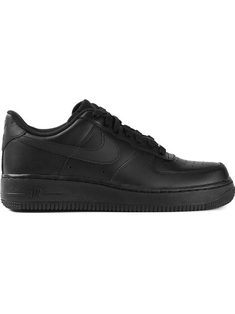 Men'S Air Force 1 Ultra Force Leather Casual Shoes, Black