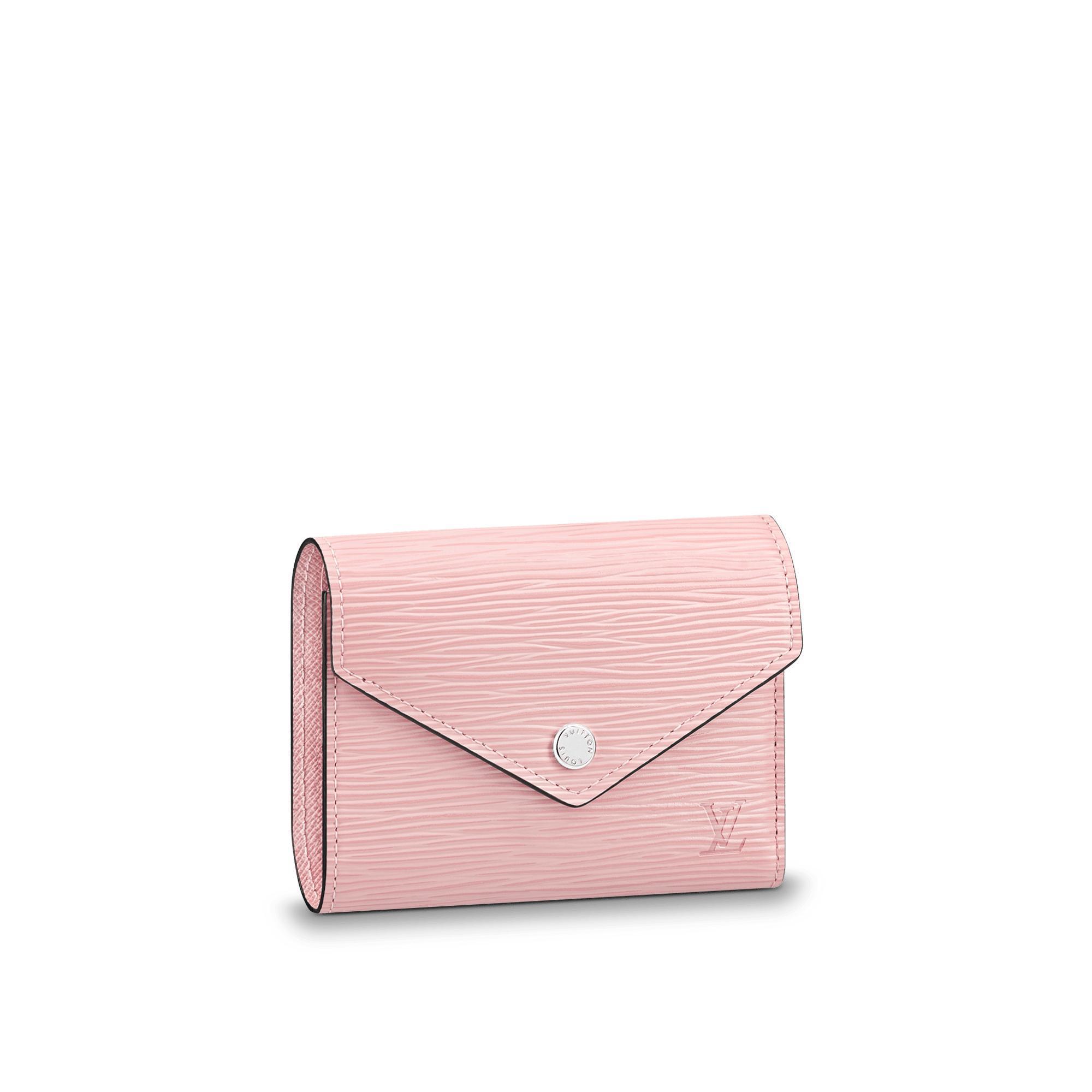 Victorine Wallet in Rose Ballerine