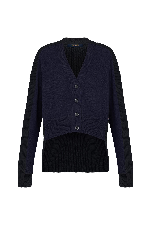 Cashmere & Wool Asymetrical  Cardigan