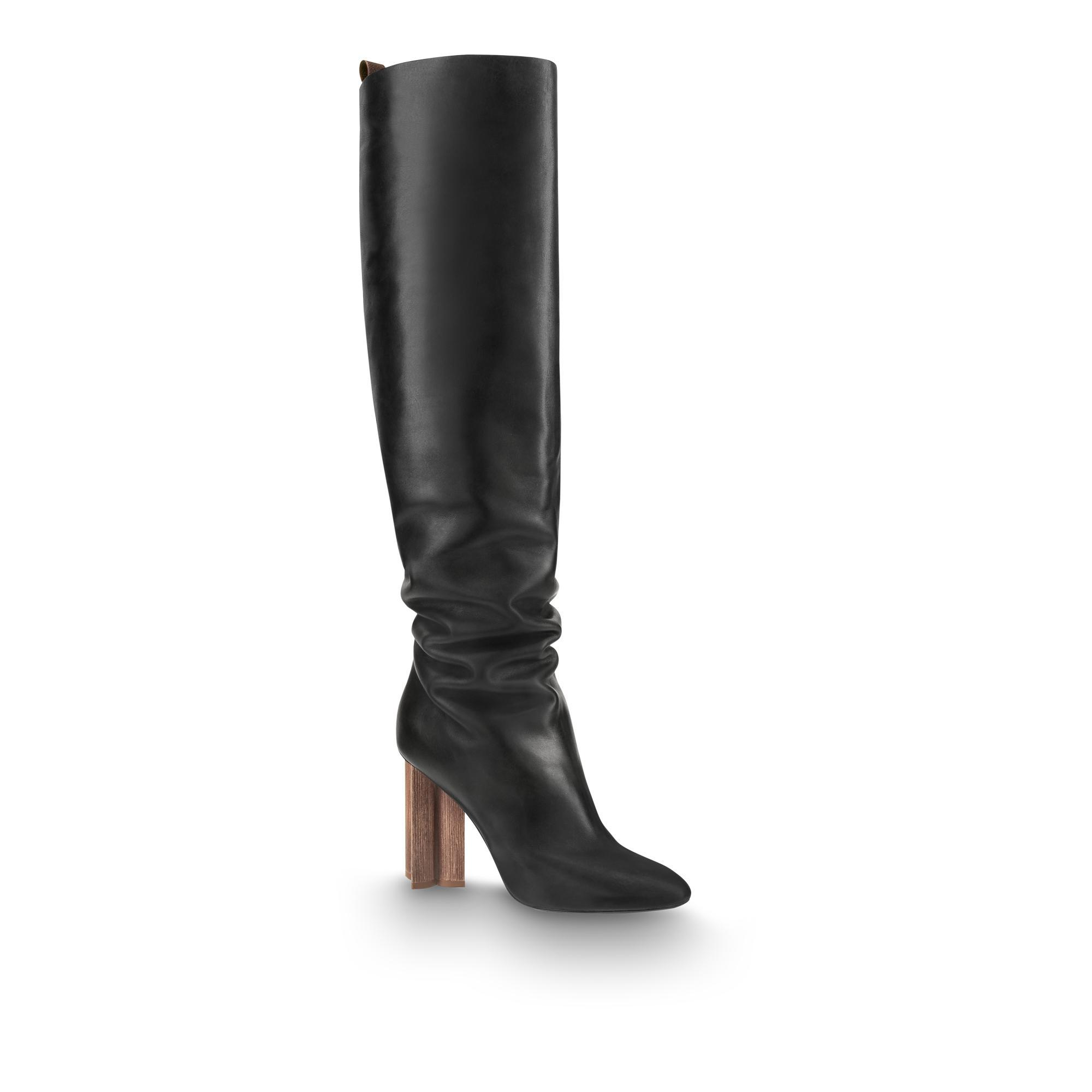 Silhouette High Boot in Noir from LOUIS VUITTON