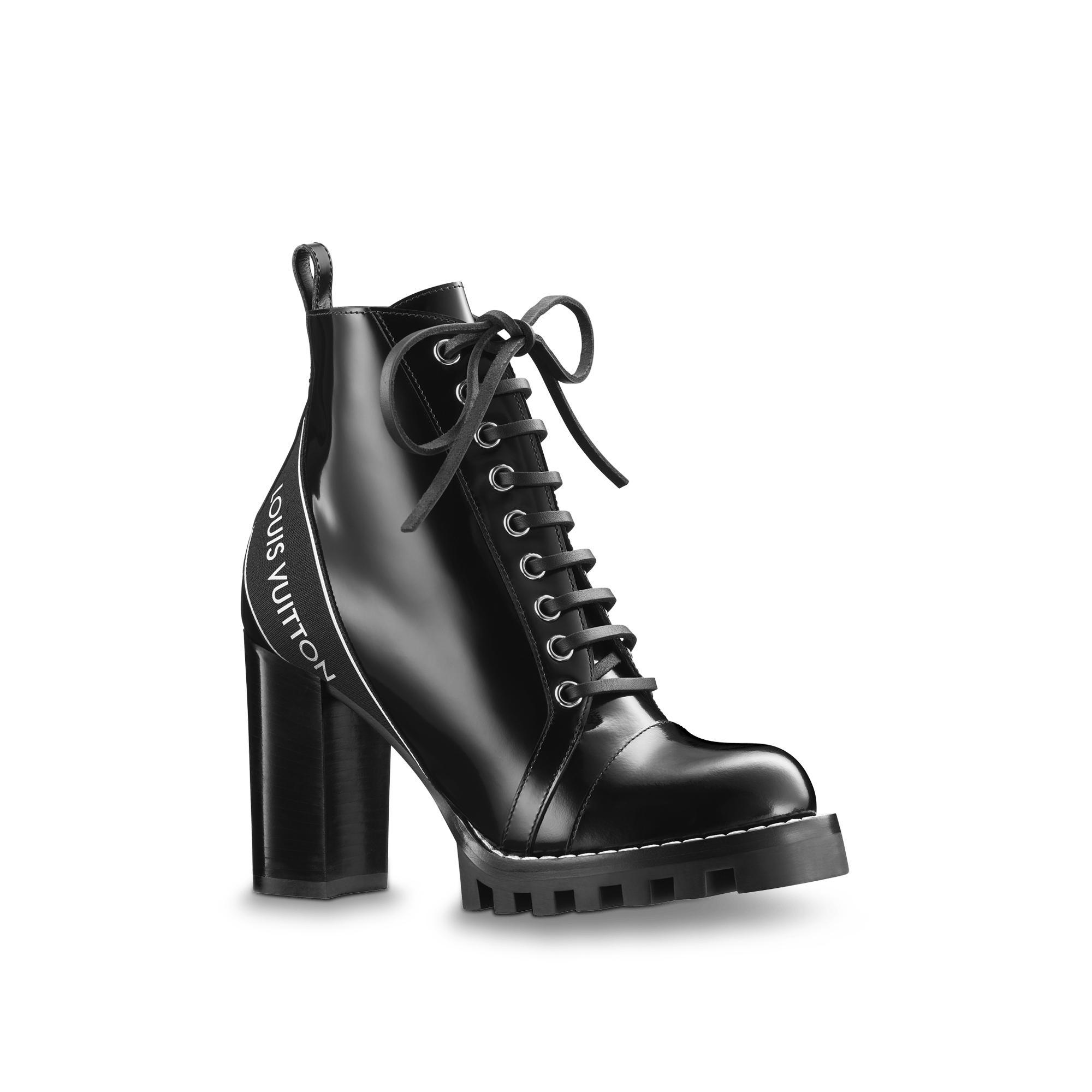 Star Trail Ankle Boot in Noir from LOUIS VUITTON