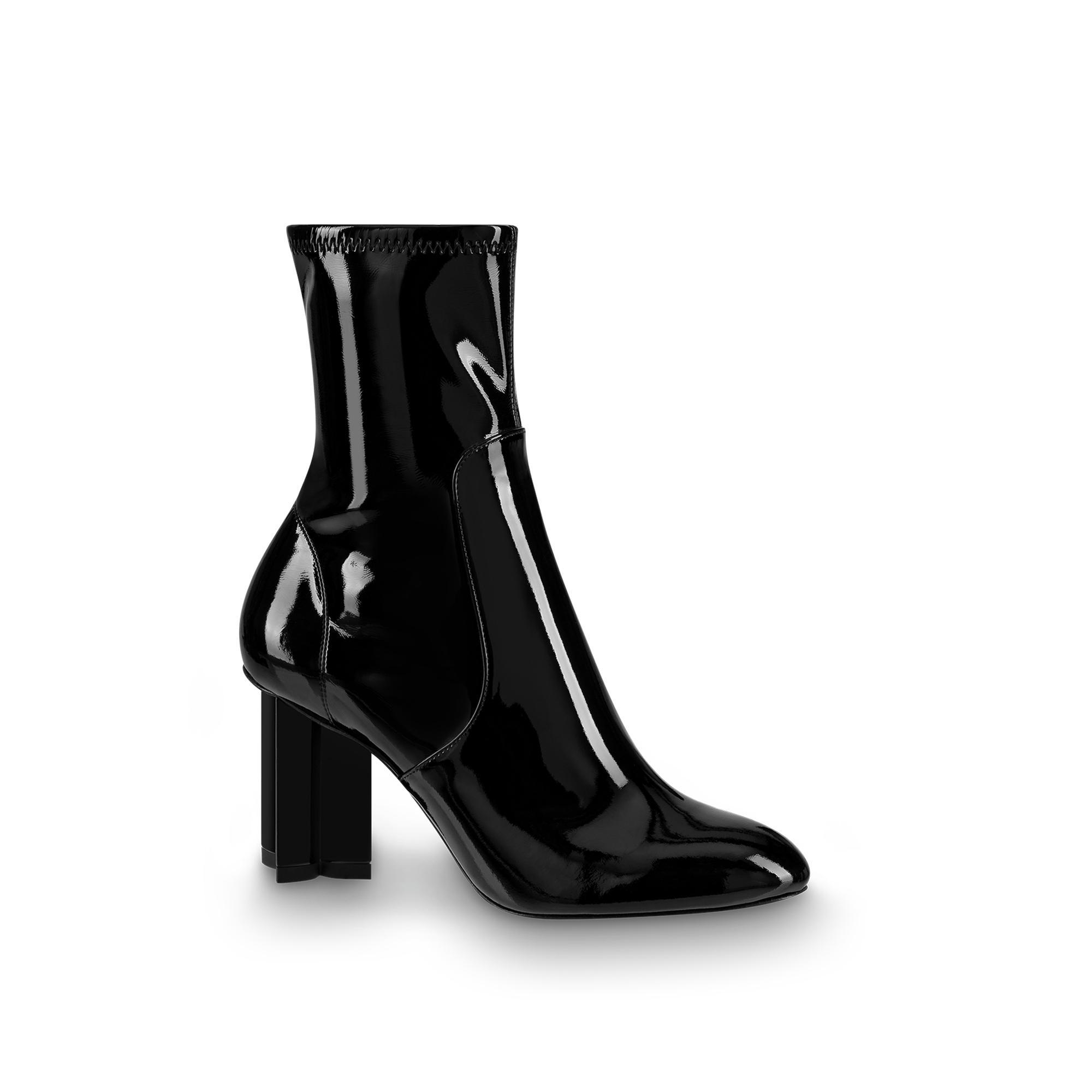 Silhouette Ankle Boot in Noir from LOUIS VUITTON