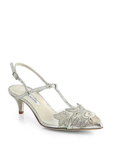 Online Cheap Authentic Oscar de la Renta Azra Slingback Pumps Clearance Amazing Price Cheap Price 2018 New 5qruG9WB4v