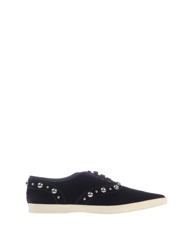Marc Jacobs Designer Shoes, Pointed Toe Lace Up Velvet Sneaker