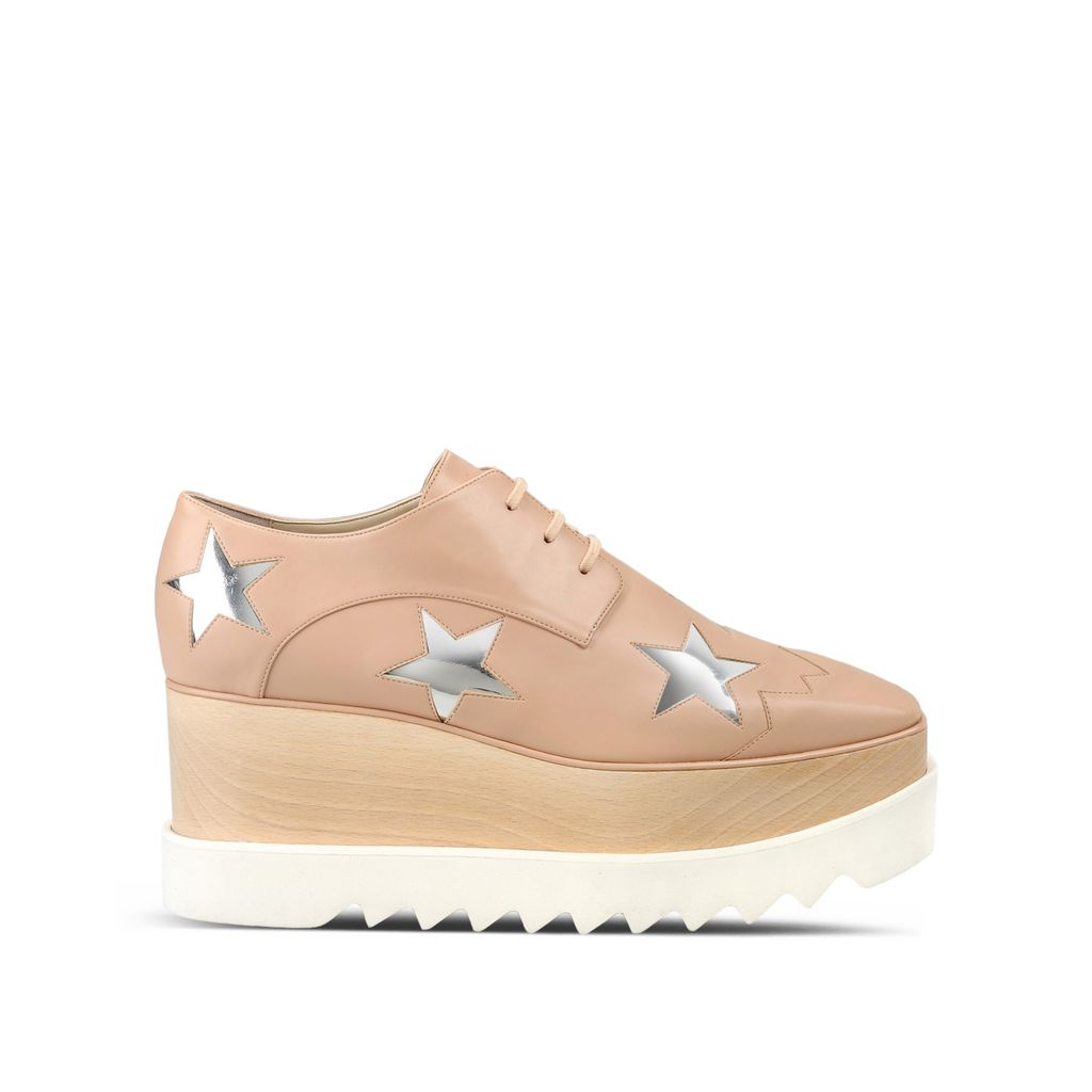 Stella McCartney Elyse Star platform Derby shoes Low Shipping Cheap Price Choice Cheap Online Cheap Reliable Sale Extremely AZU2rE0Pf1