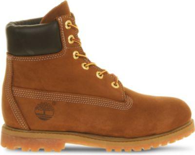 Earthkeepers 6-Inch Premium Boots, Rust Nubuck