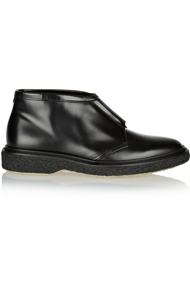 ADIEU Type 3 Leather Ankle Boots, Black