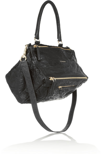 'Medium Pepe Pandora' Leather Satchel - Black