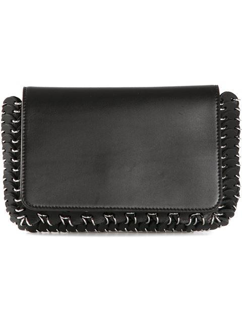 PACO RABANNE 14#01 Chain Mail Small Shoulder Bag - Black