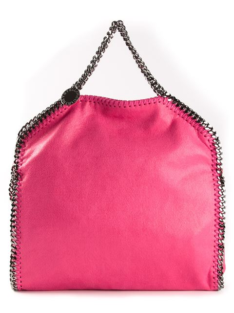 Falabella Mini Tote in Pink