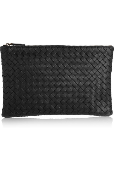Extra Large Flat Cosmetics Bag, 8522 New L, Black