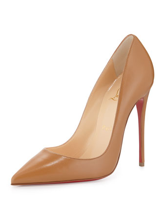 CHRISTIAN LOUBOUTIN So Kate 120Mm Nats Nude Leather