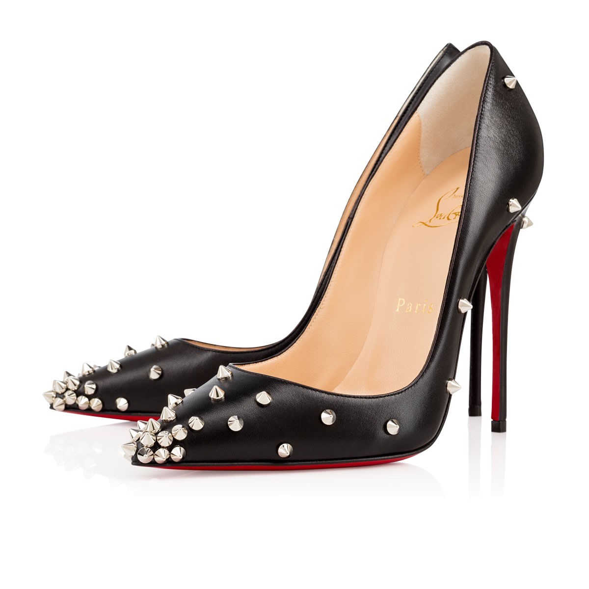 christian louboutin degraspike pumps