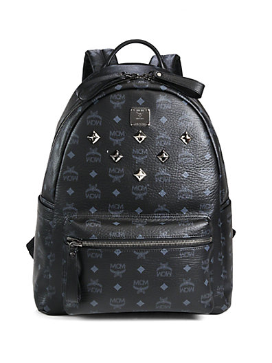 'X-Mini Stark Side Stud' Convertible Backpack - Black