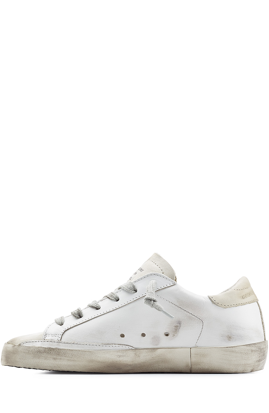 Super Star Leather Sneakers White