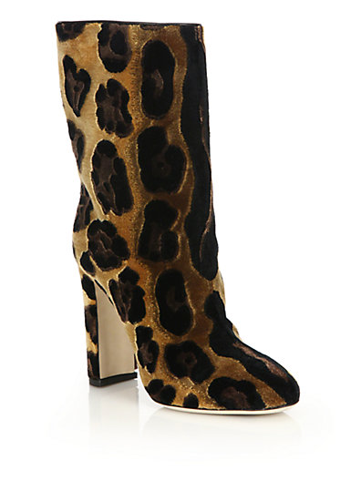 Buy Cheap View Dolce & Gabbana Suede Mid-Calf Boots Cheap Browse aNTcS