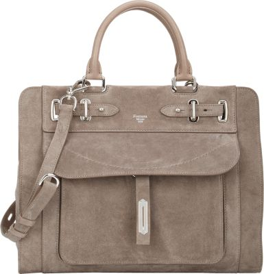 "FONTANA MILANO 1915 Small ""A Bag"" Satchel - Gray"