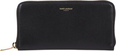 Rive Gauche Zip Around Wallet In Grained Leather, Eero