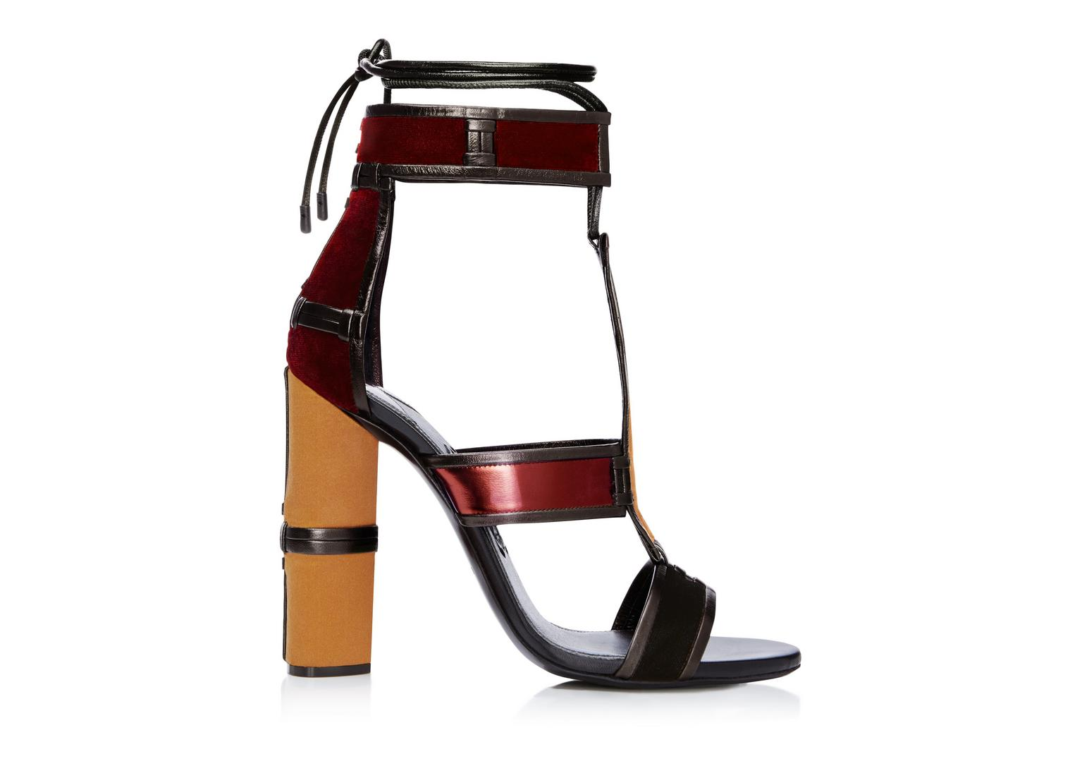 Tom Ford Wrap-Around Cage Sandals