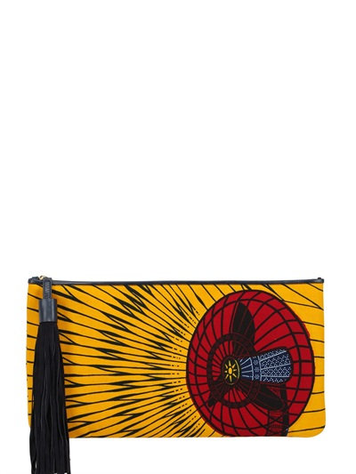 ATELIER VLISCO Limited Edition Morphic Clutch in Multicolor