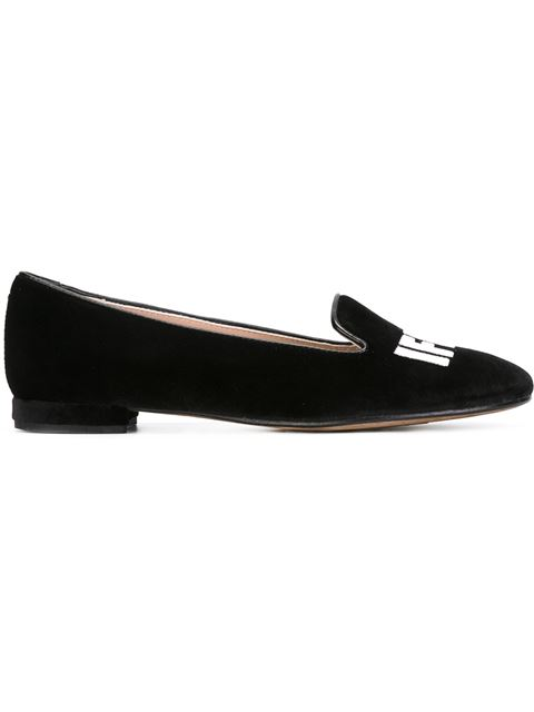 Chiara Ferragni 'I Feel' Flat (Women) in Black