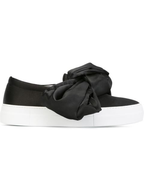 Leather Slip Ons with Ruches Spring/summer Joshua Sanders Cheap Official Site Lowest Price Manchester Great Sale For Sale Discount Reliable Sale The Cheapest XFX4fA