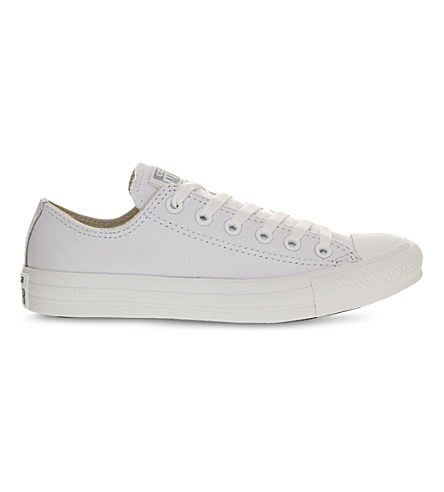 All Star Low-Top Leather Trainers, White